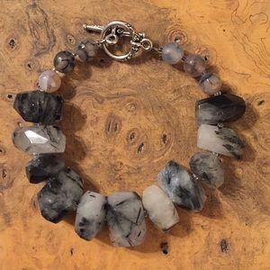 Jewelry - Tourmalated Quartz Bracelet